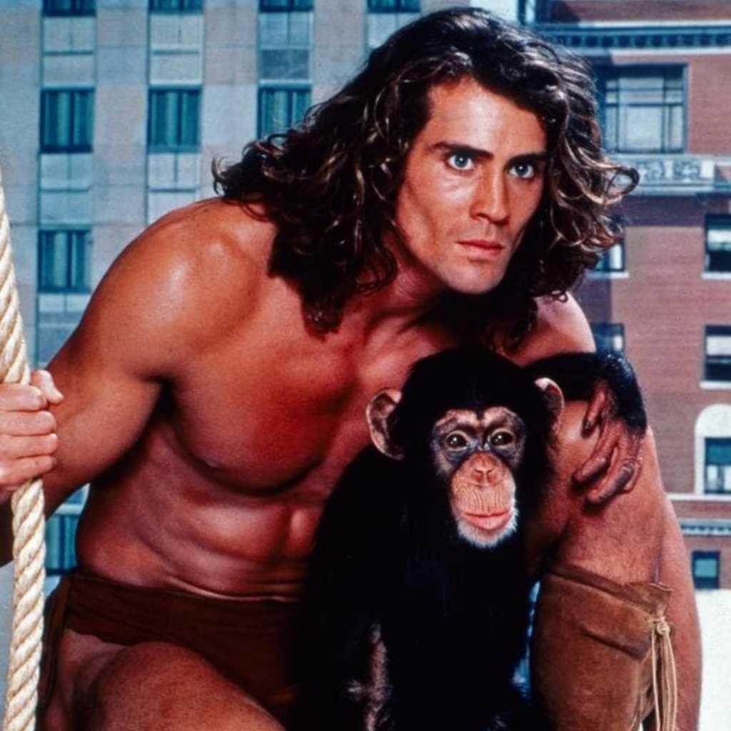 'Tarzan' actor memorable photo