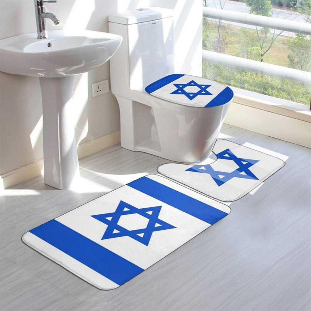 mats featuring Israel flag