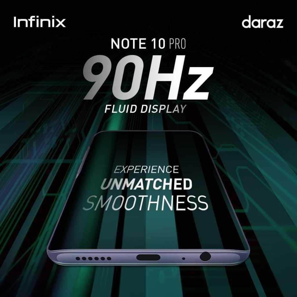 90Hz fluid display
