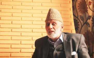 Detained Kashmiri Hurriyat