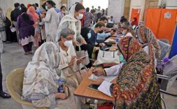 Pakistan's total coronavirus