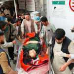 A deadly blast outside Kabul's school kill 55, injure more than 150