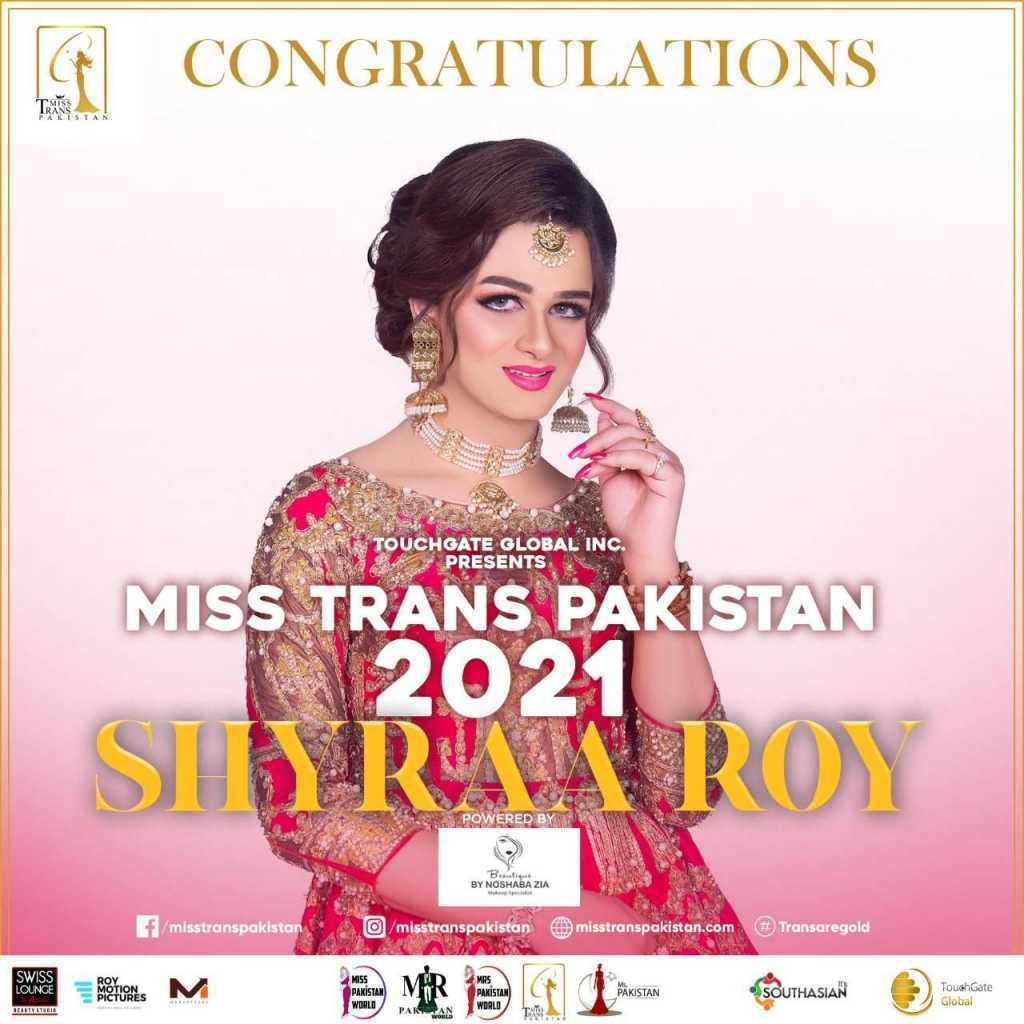 Miss Trans Pakistan 2021