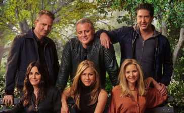 Friends Reunion in HBO