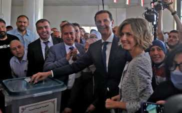 Bashar al Assad as Syrian President
