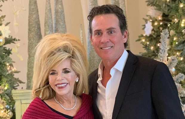 Joe Lara with his wife