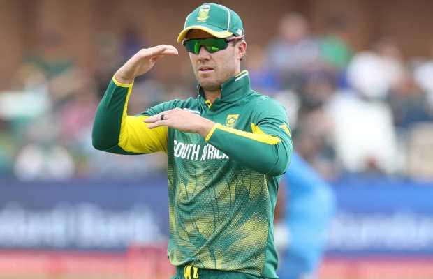 AB De Villiers Rules Out