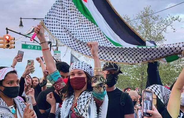 Bela Hadid under Israeli govt's criticism
