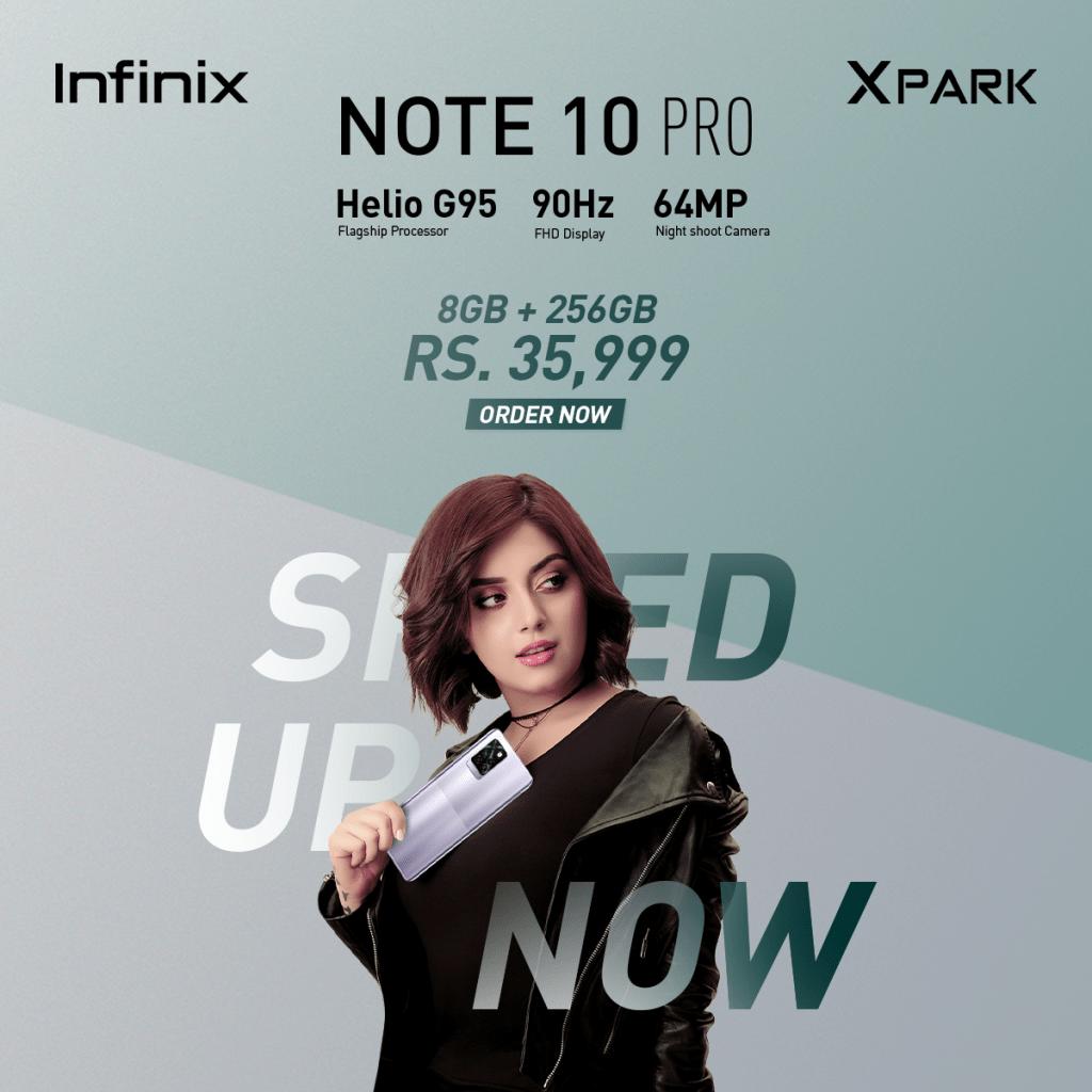 Infinix Note 10 Pro price