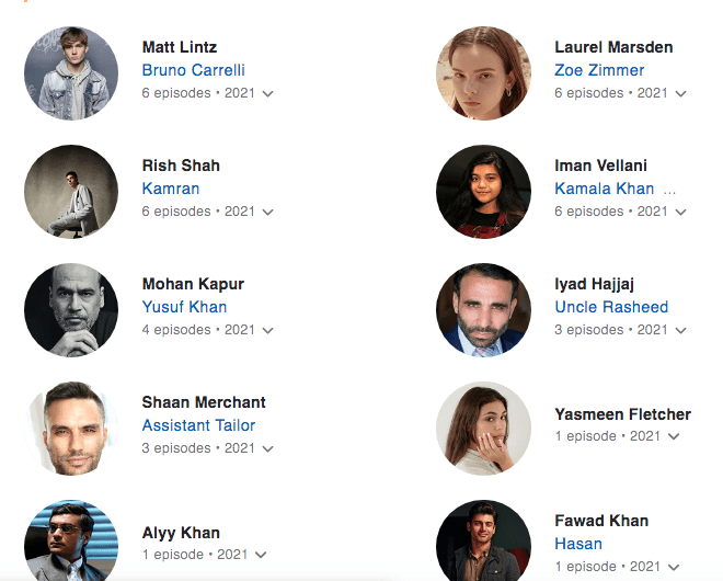 page listings