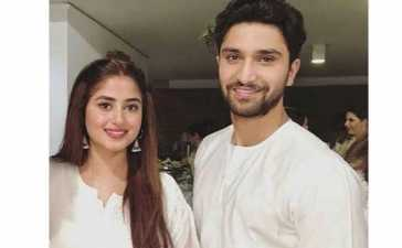 Sajal Aly with hubby