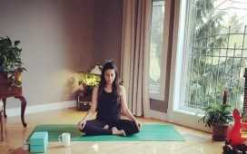 Meesha Shafi as Yoga Instructor