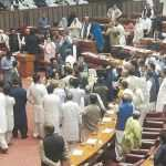 National Assembly or Cockfight Arena? The behaviour of Members of the Parliament leaves nation shocked
