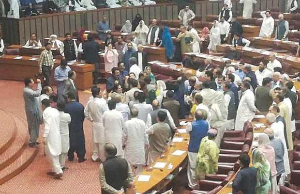 behaviour of Members of the Parliament