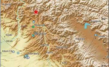 Earthquake of 4.4