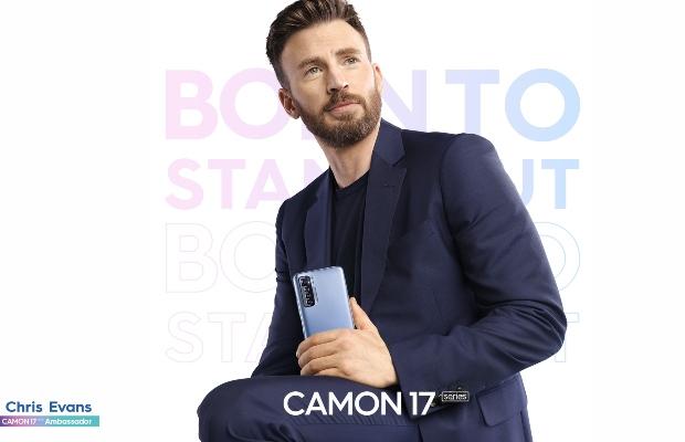 Chris Evans as brand ambassador