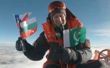 American mountaineer pays tribute to Ali Sadpara