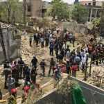 An explosion at Johar Town, Lahore leaves at least 2 dead and several injured