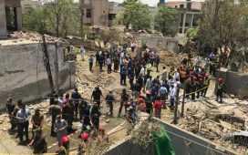 An explosion at Johar Town