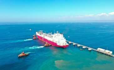 Turkey's 1st FSRU vessel