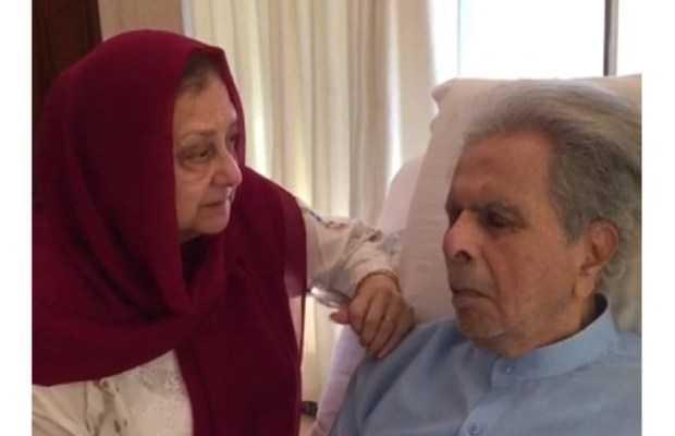 Dilip Kumar admitted to ICU