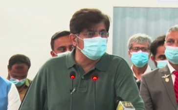 CM Sindh Murad Ali