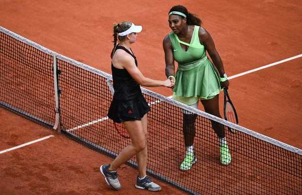 Three-time champion Serena Williams