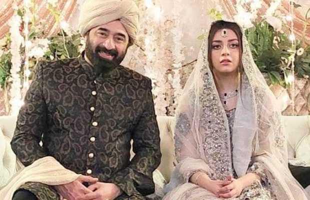 Yasir Nawaz along with Alizeh Shah