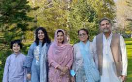Pakistan-origin family