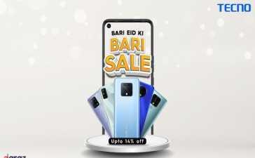 "TECNO ""Bari Eid ki Bari Sale"" Offer"