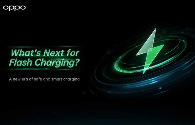 OPPO Smarter Flash Charging Technology