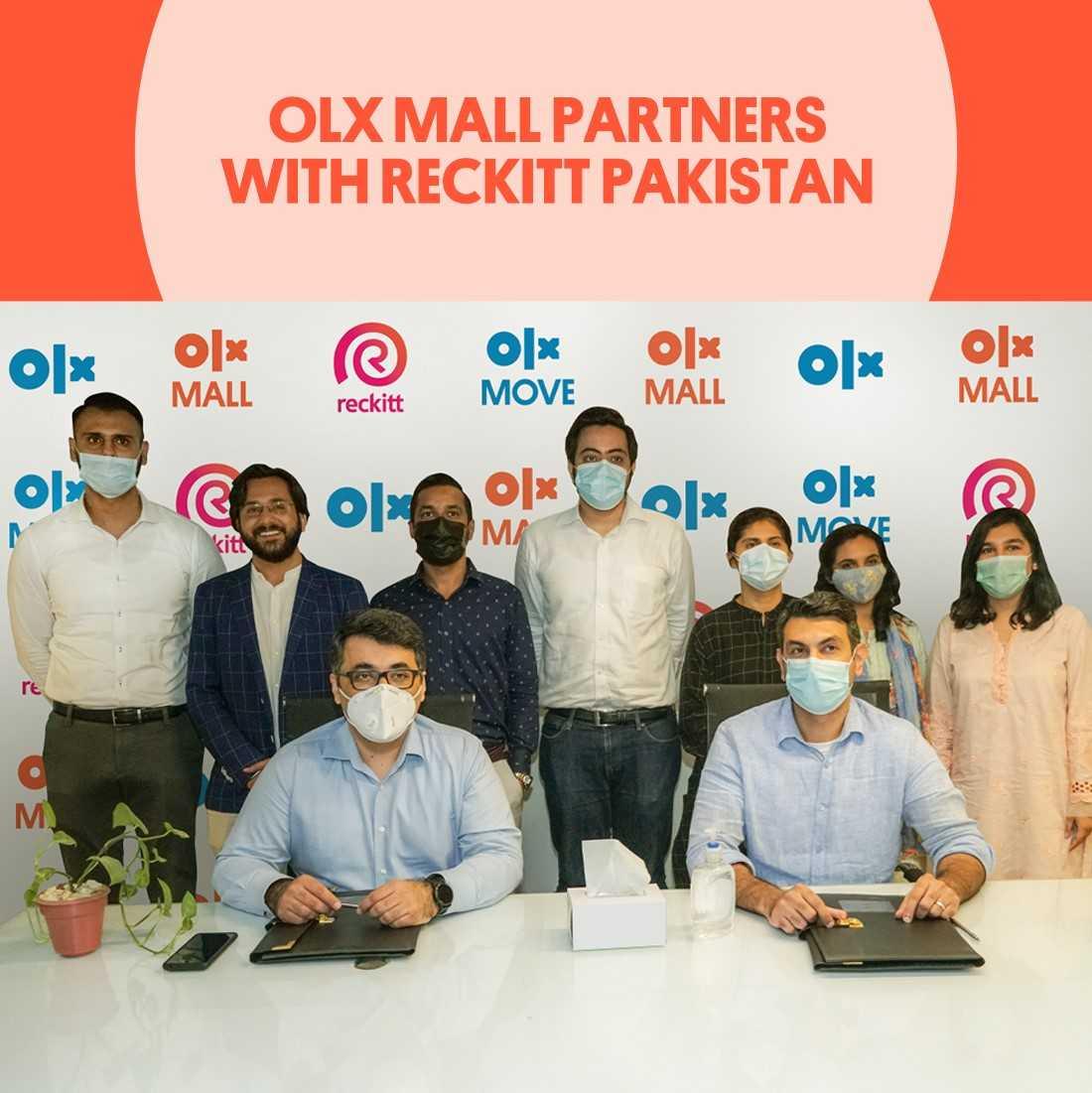 OLX Mall Partners with Reckitt Pakistan