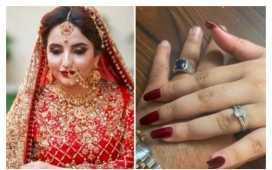 Hareem Shah's wedding