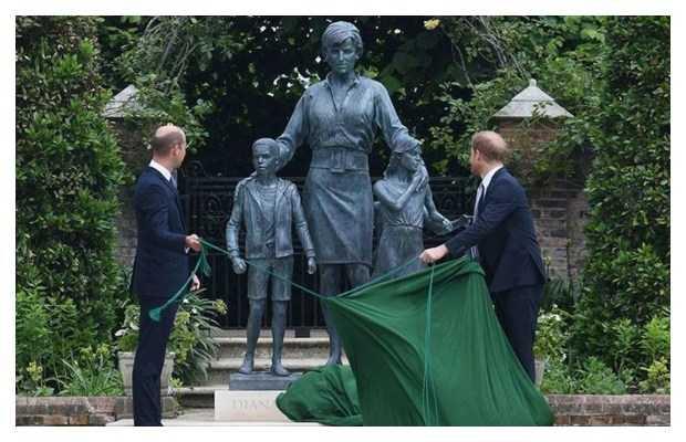 princess Diana's statue
