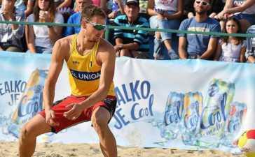 Czech Republic's beach volleyball player