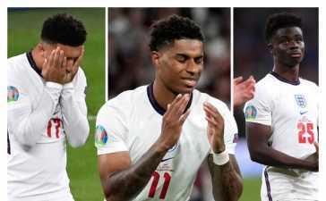 England's black players
