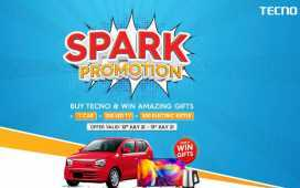 CAR with TECNO Spark Promotion