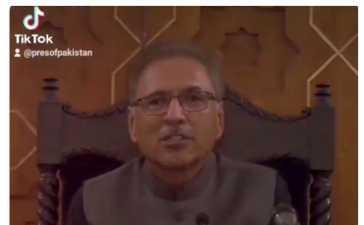 President of Pakistan Dr. Arif Alvi