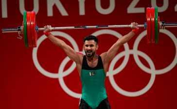 Weightlifter Talha Talib