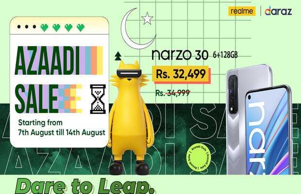 Azaadi with realme Azaadi Sale 2021
