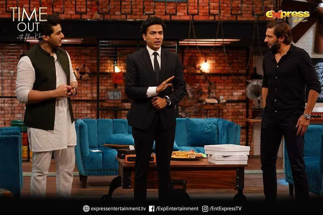 Shahid Afridi on talk show