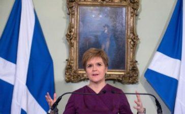 Nicola Sturgeon goes into self-isolation