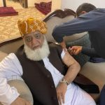 JUI-F chief Maulana Fazlur Rehman gets his COVID vaccination dose