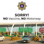 Unvaccinated people not allowed to travel on the motorway from Sep 15