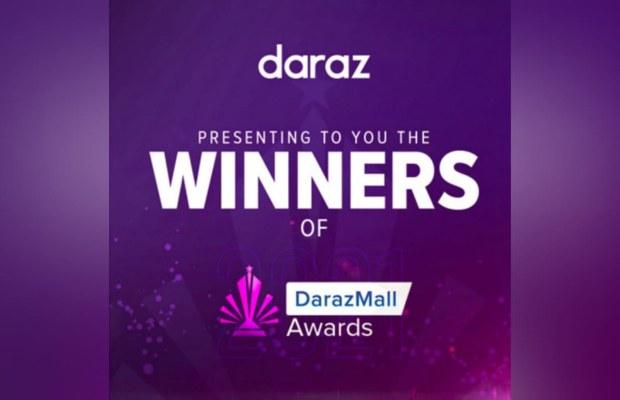 Winners of DarazMall Awards 2021
