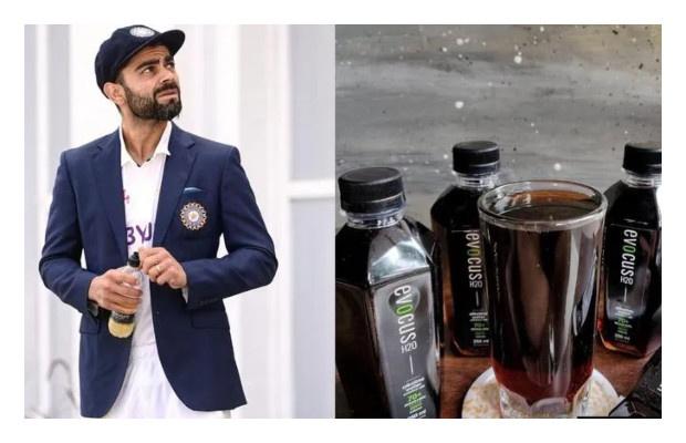 Virat Kohli drinks Black Water