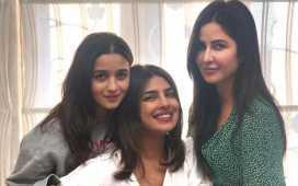 3 stars Priyanka, Alia & Katrina in a frame