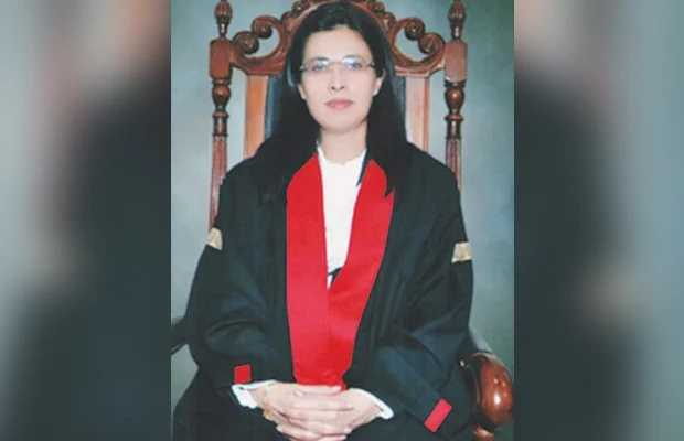 pakistani female judge