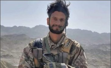 Pak Army captain martyred