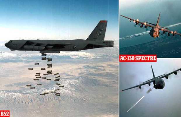 US Sends B-52 Bombers
